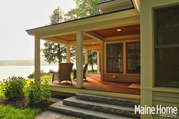 As Seen In Maine Home Design Magazine
