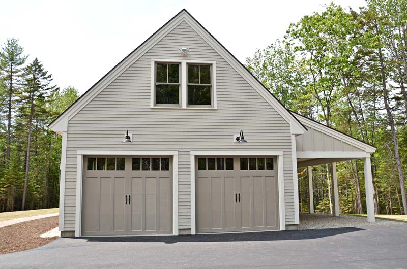 Greg Fitzpatrick Inc - Custom Home Builder - Garage with Shed