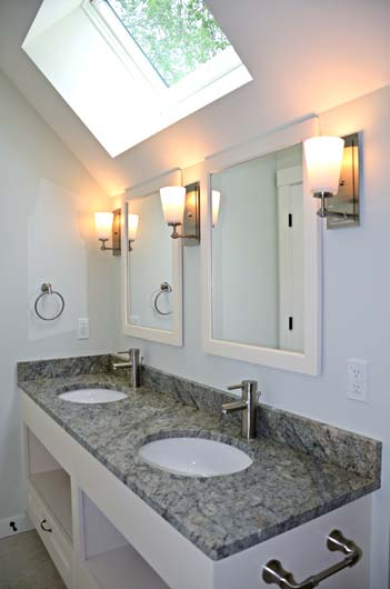 Greg Fitzpatrick Inc - Custom Home Builder - Skylit Bath
