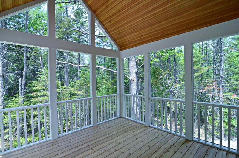 Greg Fitzpatrick Inc - Custom Home Builder - Screened Porch