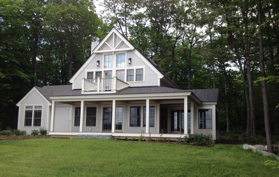 Greg Fitzpatrick Inc - Custom Home Builder - Lakeside Cottage