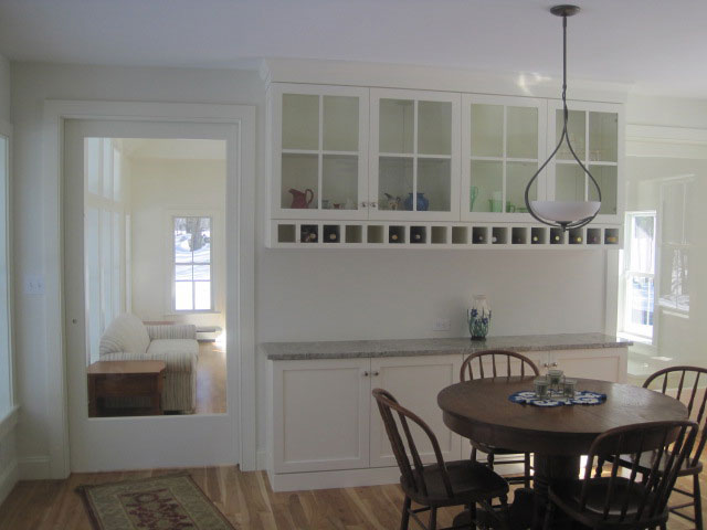Dining room built in hutch
