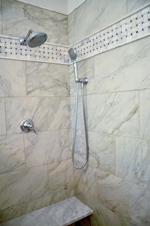 Greg Fitzpatrick Inc - Saltwater Farmhouse - Master Bath Shower